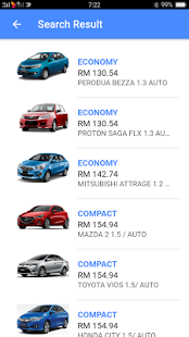 Mobile App - Hawk Rent A Car - No 1 Car Rental Malaysia